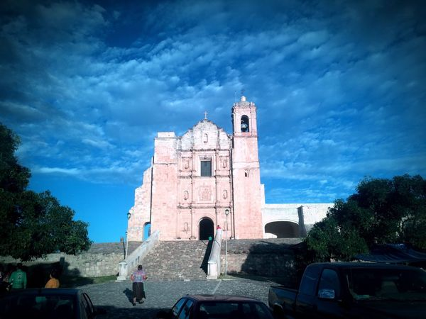 Church Convent Countryside Mexico Oaxaca Town In The Middle Of Nowhere History Historical Building Architecture Colonial Colonial Architecture