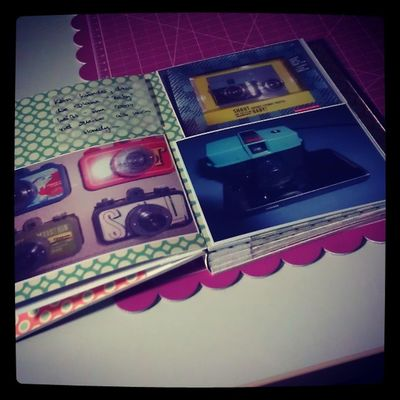 Lomographie Lomo Minialbum Demnächst auf dem Blog danipeuss