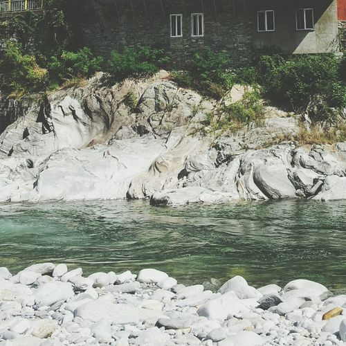 Best place to have a refreshing bath! River Tessin And I
