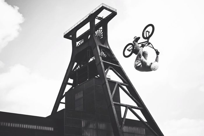 """RuhrpottAdventure // At the first """"RuhrGames"""" On Your Bike The Street Photographer - 2015 EyeEm Awards The Moment - 2015 EyeEm Awards The Action Photographer - 2015 EyeEm Awards EyeEm Bnw Bw_collection Streetphoto_bw Happy People EyeEm Gallery EyeEm Best Shots - Black + White"""