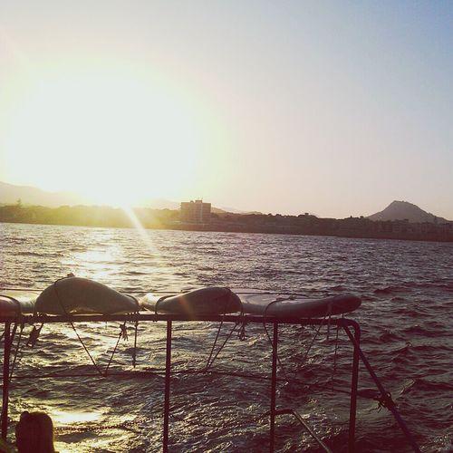 Clara Filter Holiday Sunset Boattrip