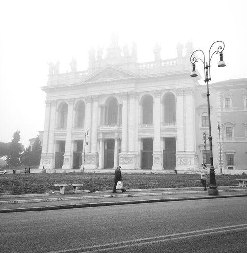 Solo in parte nascosta dalla nebbia... Winter Fog Popular Photos Blackandwhite