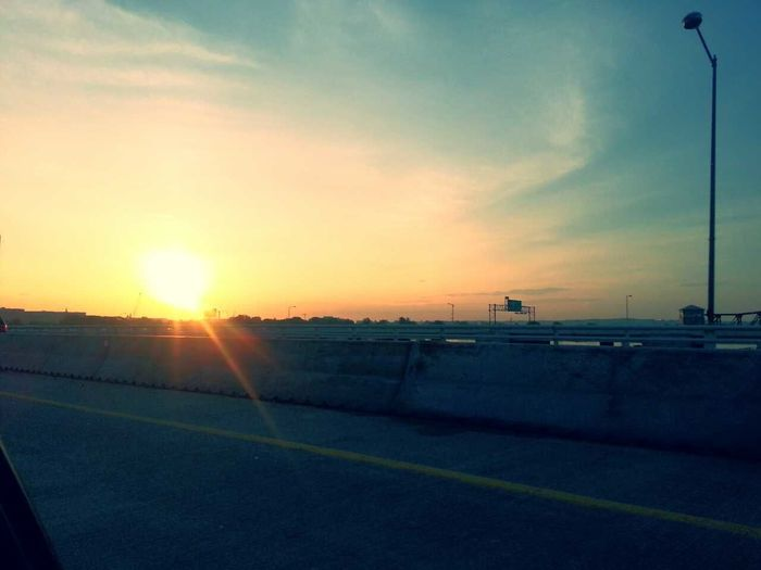 sunrise of the Potomac