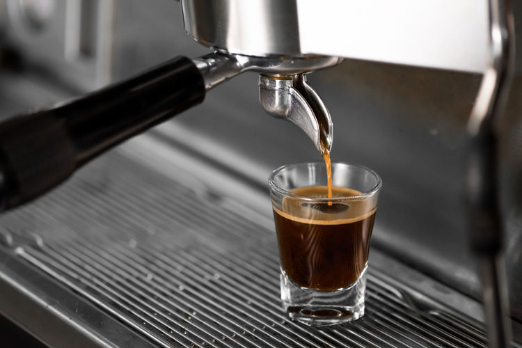 Caffeine Close-up Coffee Coffee - Drink Coffee Cup Coffee Maker Coffee Shop Cup Drink Drinking Glass Espresso Espresso Maker Food And Drink Freshness Glass Hot Drink Indoors  Latte Mug No People Pouring Refreshment Shot Glass