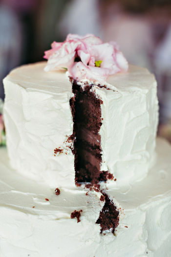 Brownie Cake Chocolate Close-up Day Dessert Focus On Foreground Food Food And Drink Freshness Indoors  Indulgence No People Pastry Plate Ready-to-eat Sweet Food Temptation Unhealthy Eating Wedding Cake