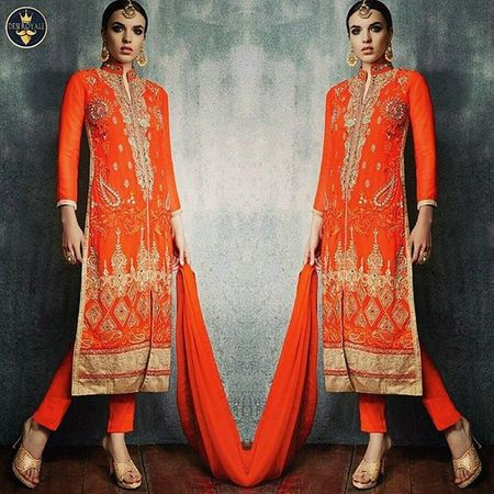 https://www.desiroyale.com/collections/newarrivals/products/orange-indian-suit-with-dupatta Desi Wedding Punjabi Picoftheday Photooftheday Instagood Instacool Sardarni Bride Indianbride Sangeet Desiweddings Indiansuit Gift Bridal Fashion Clutchbag Earrings Lehenga Colour Saree Sarees Orange Anarkali Lovely india mothersday Regrann