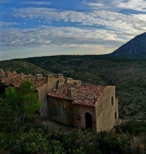 Paisaje Natural Nature Pueblo Fantasma Arboles Rotas Denia Comunidad Valenciana House Architecture