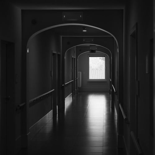 Going towards the light Absence Arcade Arch Architecture Building Built Structure Ceiling Corridor Day Diminishing Perspective Direction Door Empty Entrance Flooring Indoors  Light And Shadow Light At The End Of The Tunnel Long No People Relection Sunlight The Way Forward Window