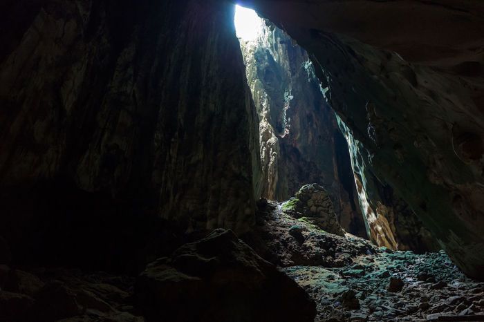 Kuala Lumpur Batu Caves Beauty In Nature Cave Cliff Darkcave Day Geology Indoors  Mountain Nature No People Physical Geography Rock - Object Rock Formation Scenics Tranquil Scene Tranquility Water