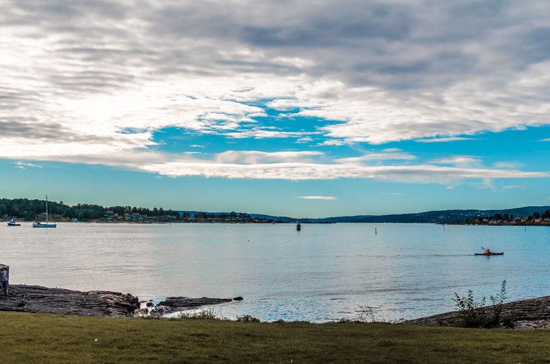 Sea sky Oslo