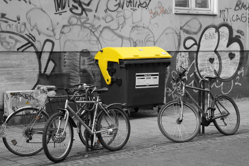 Architecture Bicycle Building Exterior Built Structure City Day Land Vehicle Mode Of Transport No People Outdoors Stationary Transportation EyeEm Diversity