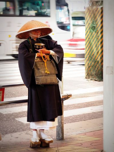 Japan One Person Standing Japanese Style Japan Street Shot Japan Streetphotography Traditional Clothing