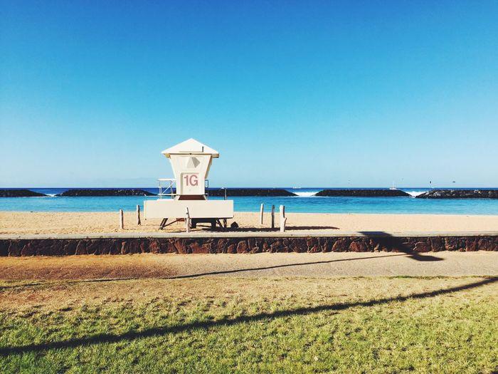 Lifeguard Station Magicisland Hawaii Beach Life IPhoneography