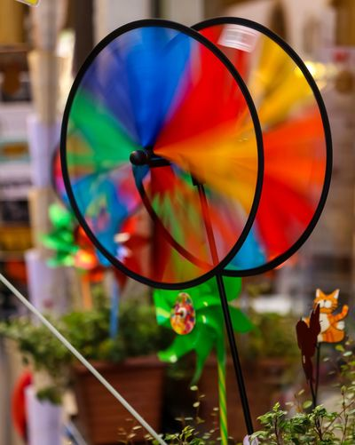 Colorful wind