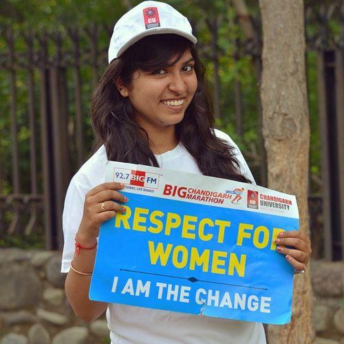 Respectforwomen Runforpride Gagans_photography Instachandigarh Bigchandigarhmarathon Chandigarh university Cu Instapunjab Bigfm