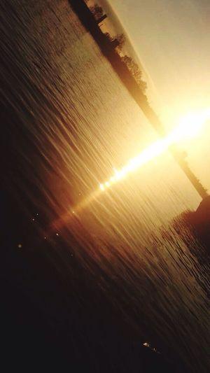 Dunaj Sunset Relaxing Sunset Sun Sunny