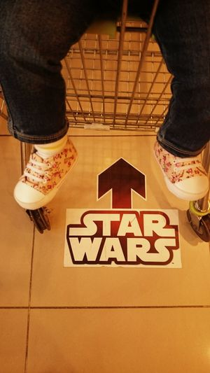 Let the force show us the way...Freelance Life Star Wars The Force Awakens Star Wars Exhibition Starwars Star Wars Star Wars Love Shopping Burning Plastic Quality Time Walking Around Childsplay Showcase: December Taking Photos Untold Stories Finding New Frontiers