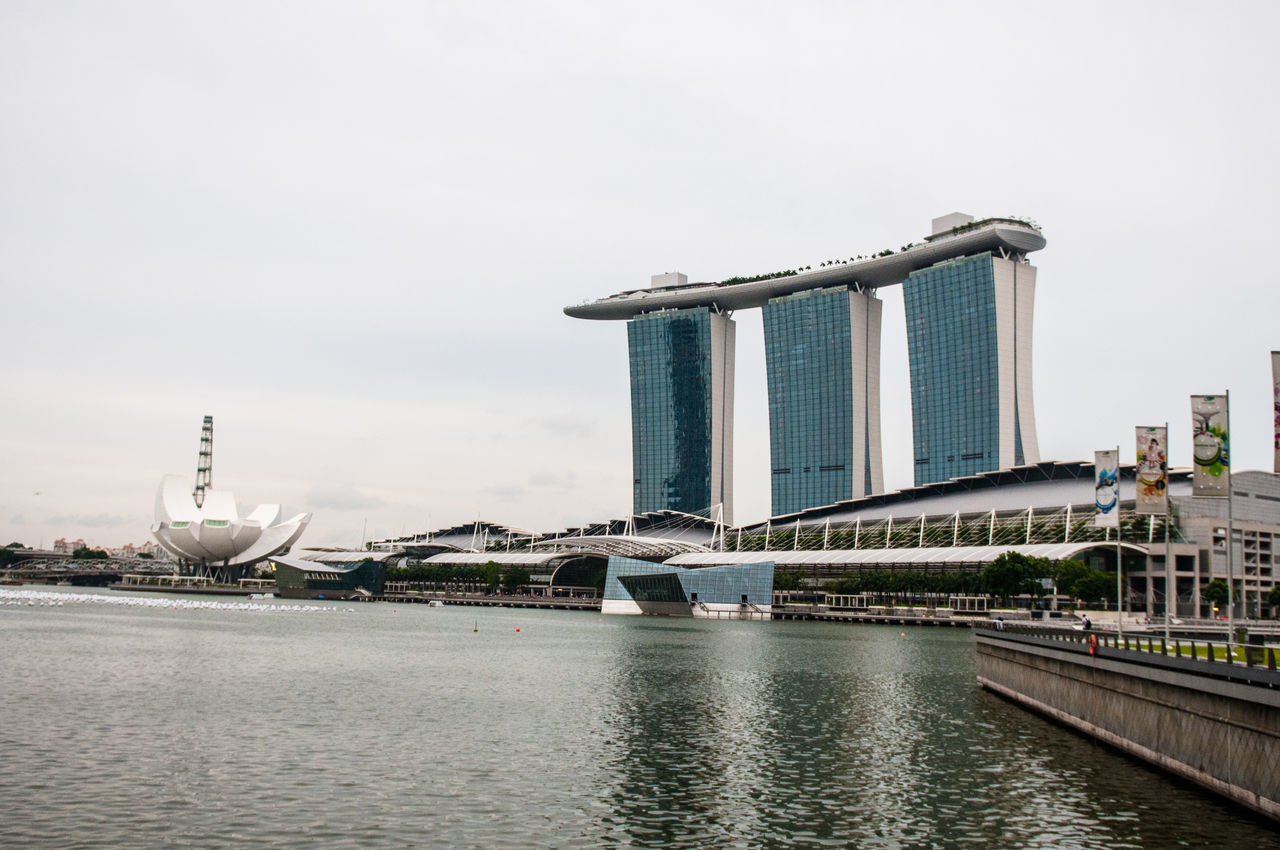 Architecture Capital Cities  Marina Bay Sands Marina Bay Singpore♥Beautiful Marina Singapore Singapore Singapore City Singapore View