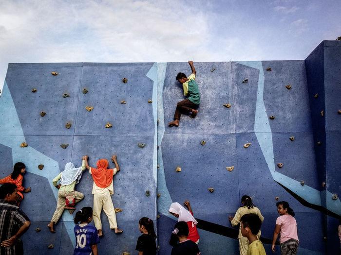 climbing the fun Go Higher A New Beginning