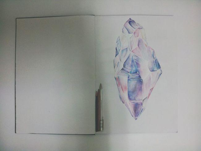 In Progress  Art Rocks And Minerals Aquarelle