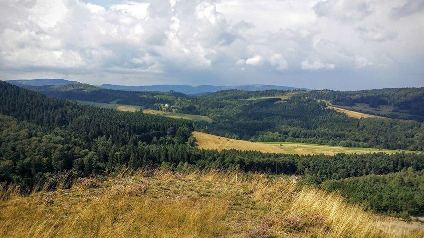 Cloud - Sky Germany Goslar Harz Landscape Mountain Mountain Range Nature Sky Tranquil Scene