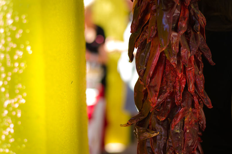 Colorful Cultural Day Focus On Foreground Food Hanging Lifestyles Mexico Outdoors Red Red Chili Red Chili Pepper Spice