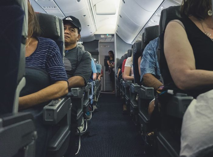 Life of the the class. Airplane Flying Seat Plane Middle Hello World Taking Photos People