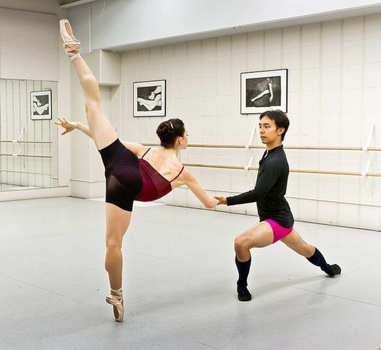 Pas De Deux Balletboy Danseuse étoile Danza Classica