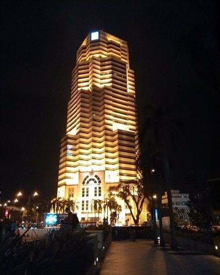 Smartphone Xiaomi Mi2, Kuala Lumpur Illuminated City Night Skyscraper Architecture Building Exterior Tower Low Angle View Travel Destinations Business Finance And Industry Statue Modern No People City Life Downtown District Archival Urban Skyline Outdoors Office Building Exterior Clock Xiaomi Mi2