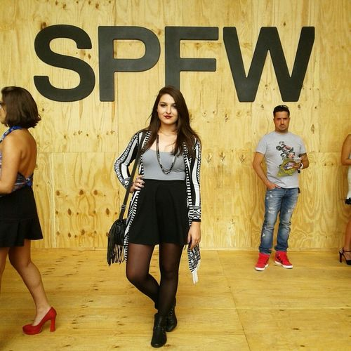 Dia de jornalismo de moda, bebê! Journalism Moda SPFW Lovemyjob Best Experience Want Again