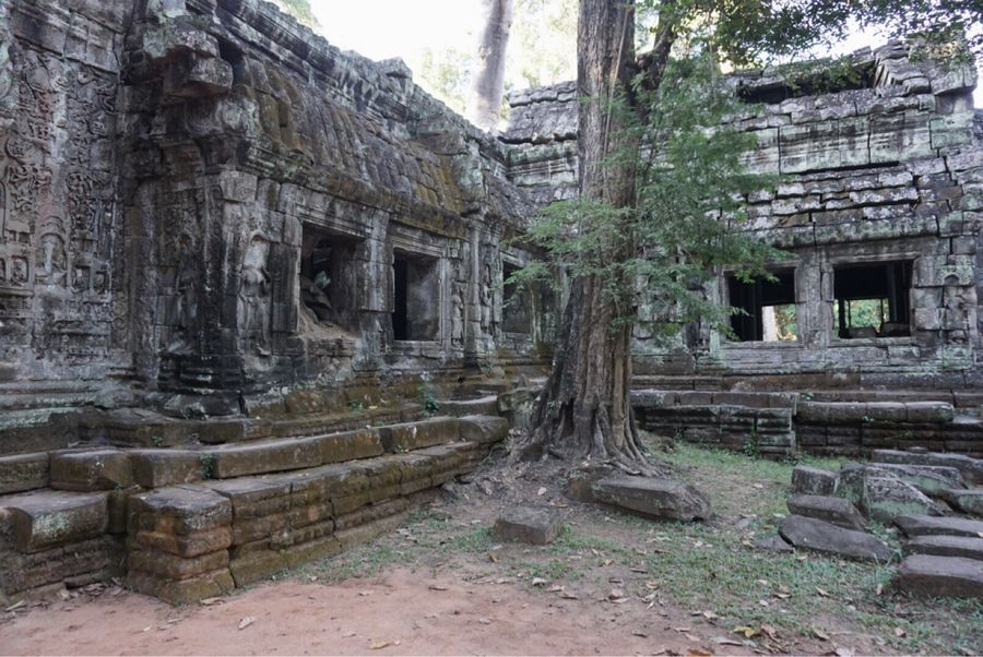 Old Ruin Stone Material Ancient History Travel Destinations Ancient Civilization Spirituality Religion Archaeology Tourism Architecture Travel Day Built Structure Place Of Worship No People Outdoors Cambodia
