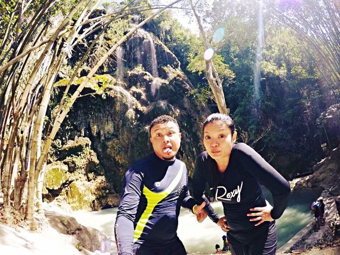 Tumalog Falls Oslob Cebu Philippines