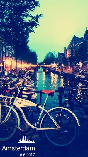Hvb Team Sky Rotlicht Nightlife Bicycle Amsterdamse Grachten EyeEmNewHere EyeEm