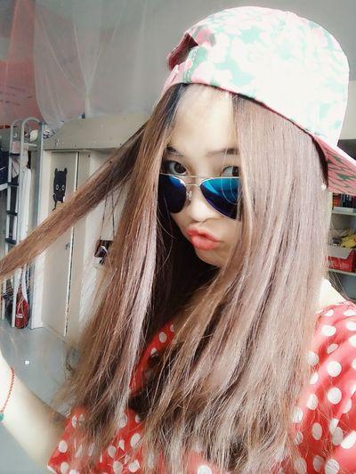 Redlipstick Blonde Hair Have A Nice Day♥