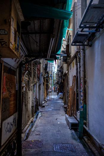 Alley in Hong