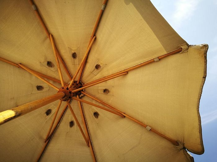 Hdr_Collection Outdoors Umbrella No People Yellow Afternoon Delight High Contrast Rare Sight EyeEm Gallery Sightseeing Day Afternoon Look Up And Smile