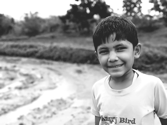 EyeEm Selects Child Portrait Childhood Smiling Boys Males  Looking At Camera Happiness Close-up Thoughtful Moments Of Happiness