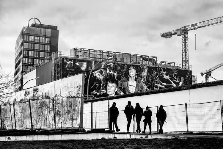 B & W  Bad Condition BAD SAMPLE Berlin Berlin Photography Berlin Wall Memorial City Life Deconstruction Memorial No Walls STOP WALL Stop Wars Storm Cloud STRETT PHOTOGRAPHY Urban Landscape Wall
