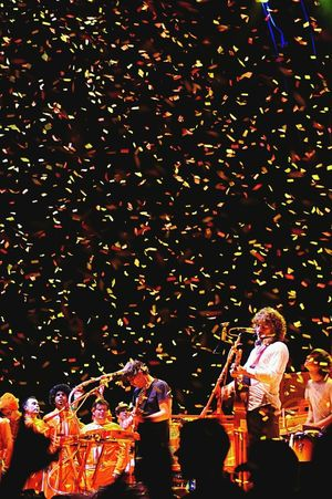 Flaming Lips The Flaming Lips Fun Canada Ontario Ottawa Band Concert Music Wayne Coyne Singer  Explosion Confetti I love this band Music Brings Us Together