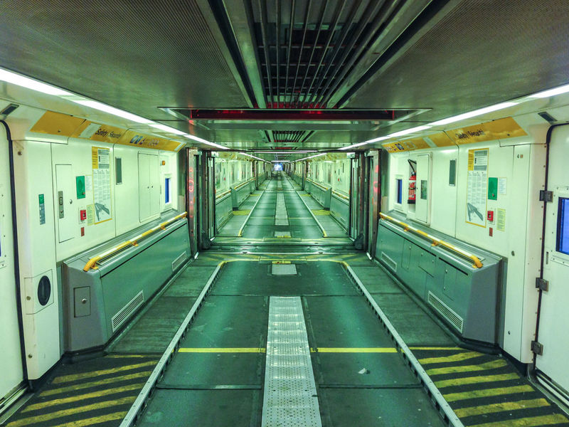 Absence Architecture Built Structure Ceiling Corridor Diminishing Perspective Empty Eurotunnel Illuminated Incidental People Indoors  Interior Public Transportation Rail Transportation Subway The Way Forward Transportation Vanishing Point
