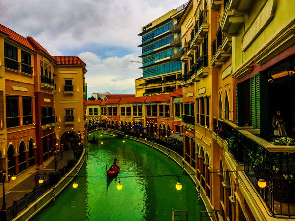 Architecture Built Structure Building Exterior Outdoors Venice Canals Venice Grand Canal Mall Eyeem Philippines
