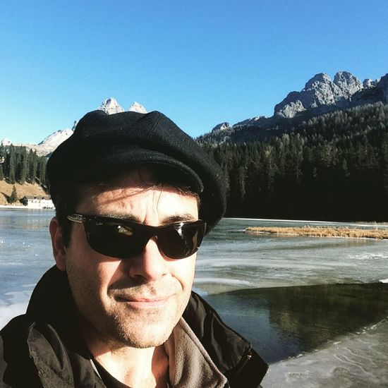 Lago Di Misurina Mountains Dolomites, Italy Lake Traveling Portrait Ontheroad That's Me Today's Hot Look Nature Color Portrait