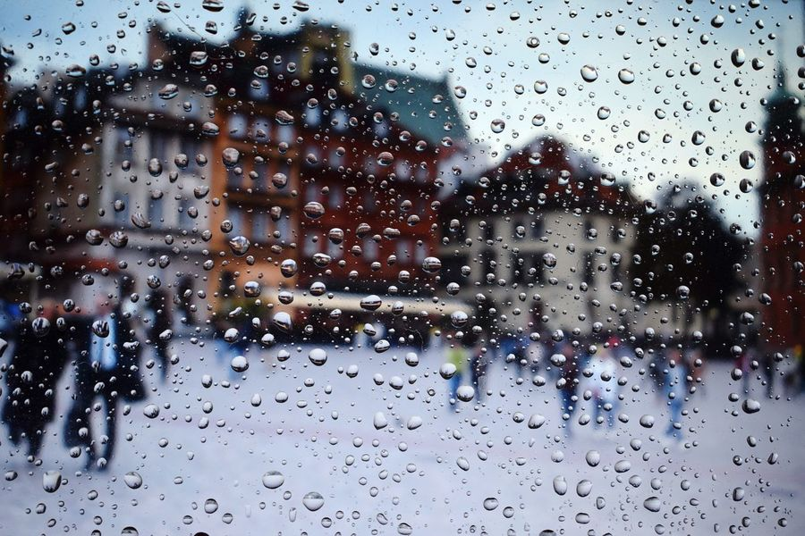 Old Town Warsaw People Poland Photography Polishphotographer EyeEm Selects Nikon Nikonphotography Nikond3300 Walk Drop Rain Glass - Material Window Wet Transparent Weather Rainy Season RainDrop Glass Land Vehicle Water Vehicle Interior Looking Through Window Car Interior Full Frame Backgrounds Mode Of Transport Sky