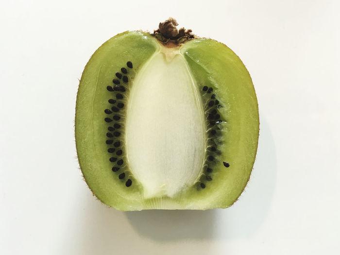 Kiwi fruit half