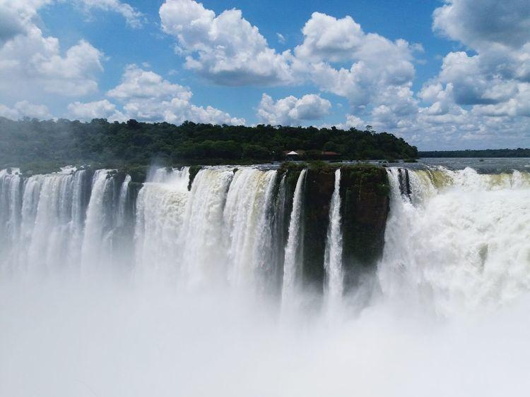 Cataratas Del Iguazu Paisaje Nature Misiones, Argentina Paisaje Natural