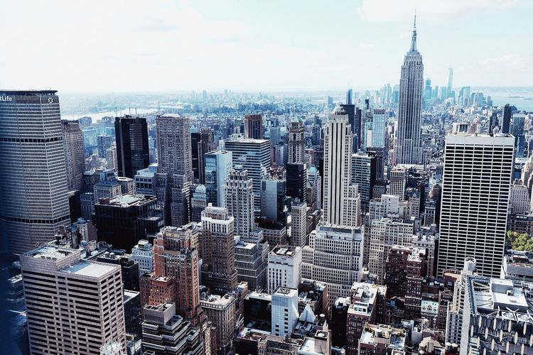Manhattan Top Of The Rock New York City