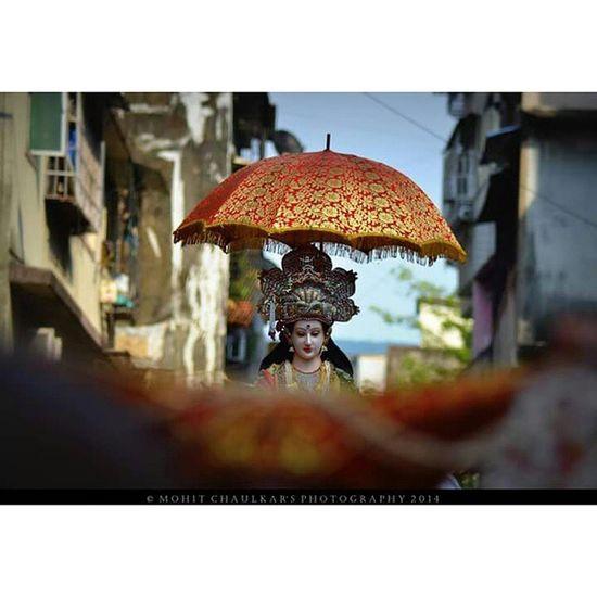 Devi Tembinaka Aaibhavani Thane chi shan agman sohala nikon 610 😘😘
