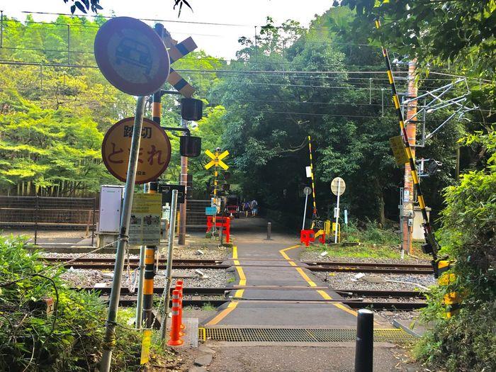 Japan Train Fumikiri Arashiyama Kyoto