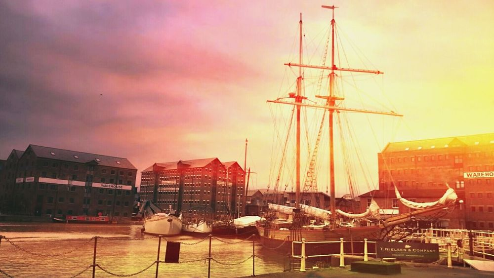 Feel inspired today 😉 Nautical Vessel Sunset Harbor Sailboat Ship Commercial Dock Cloud - Sky Development Sea Sailing Ship Mode Of Transport Hdr_Collection The Magic Mission Creativity No People Hdr Snapseed Colorful Outdoors First Eyeem Photo Sun Architecture Millennial Pink