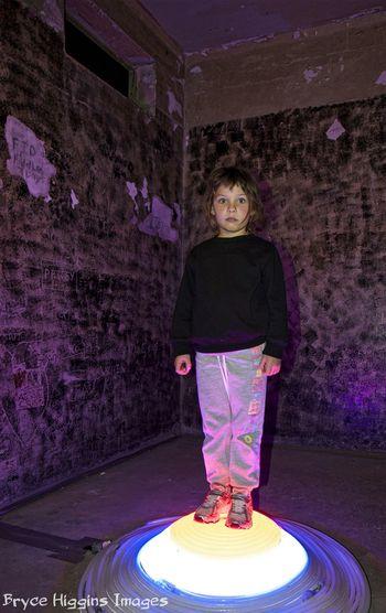 Taken at The Lock-Up Newcastle Lightpainting Lightpaint Portrait